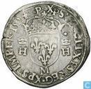 Frankrijk teston 1554 M
