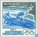 Postage Stamps - Monaco - Olympic Games- Albertville