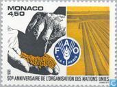 Postzegels - Monaco - Int. organisaties 1945-1995