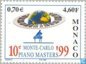 Postage Stamps - Monaco - Competition pianists