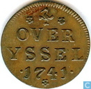 Munten - Overijssel - Overijssel duit 1741
