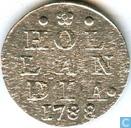 Münzen - Holland - Holland 2 stuivers 1788