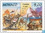 Postage Stamps - Monaco - Grimaldi Dynasty