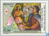 Briefmarken - Monaco - Schützen Heiligen