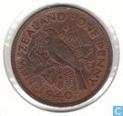 New Zealand 1 penny 1940