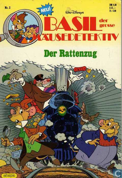 Great Mouse Detective, The 2 Der Rattenzug? Comic book catalogue at ...