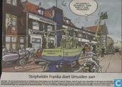 Stripheldin Franka doet IJmuiden aan