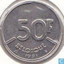 Belgium 50 francs 1991 (FRA)