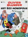 Strips - Olivier Blunder - Het BZZ-monopolie