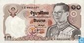 Thailand 10 Baht 1980 (P87a3)