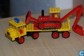 Lego 376 Dieplader met buldozer