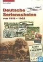 Deutsche Serienscheine von 1918 - 1922