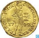 Holland 1 ducat 1742