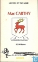 History of the name MacCarthy