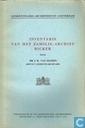 Inventaris van het familie-archief Bicker