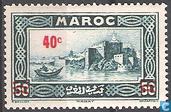 Rabat, la Kasbah des Oudaïas surcharge