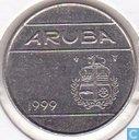 Aruba 25 cents 1999