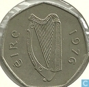 Irland 50 Pence 1976