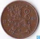 Finland 5 penniä 1920