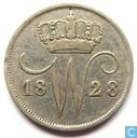 Netherlands 10 cent 1828 U