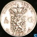 Niederländisch-Ostindien 1/10 Gulden 1855