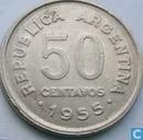 Argentinië 50 centavos 1955