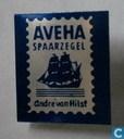 AVEHA spaarzegel André van Hilst [blauw]