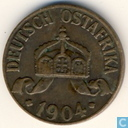 German East Africa 1 Heller 1904 (J)