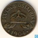 Duits Oost-Afrika 1 heller 1904 (J)