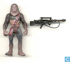 Chewbacca (with Bowcaster and Heavy Blaster Rifle)