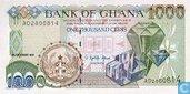 Ghana 1,000 Cedis 1996