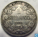 South Africa 1 shilling 1895