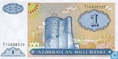 1 Azerbaijan Manat 1993