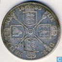 United Kingdom 2 florin 1889