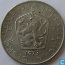Tchécoslovaquie 5 korun 1973