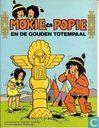 Strips - Mokie en Popie - De gouden totempaal