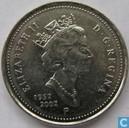 "Canada 5 cents 2002 ""Elizabeth II Golden Jubilee 1952 - 2002"""