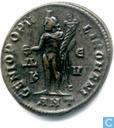 Romeinse Keizerrijk Antioch Grootfollis van Keizer Maximianus 300-301 n.Chr.