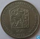 Tchécoslovaquie 2 koruny 1972