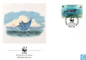 WWF-whale shark and reuzenrog