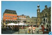Markt en stadhuis