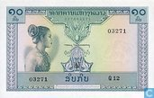 Laos 10 Kip (P10b)
