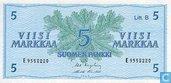 markkaa Finlande 5