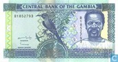 Gambia 25 Dalasis
