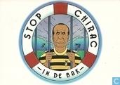 """B000885 - SP """"Stop Chirac in de bak"""""""