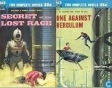 Livres - Sohl, Jerry - Secret of the Lost Race + One against Herculum