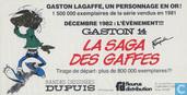Uitnodigingskaart La saga des gaffes