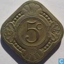 Netherlands Antilles 5 cents 1967