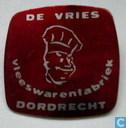 De Vries Vleeswarenfabriek Dordrecht [rood]