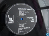 Disques vinyl et CD - Creedence Clearwater Revival - Willy and The Poor Boys